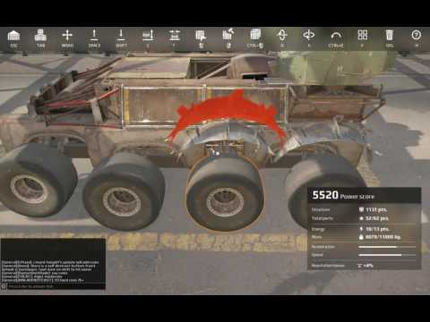 Crossout 101 Episode 30 - How to armor Wyvern
