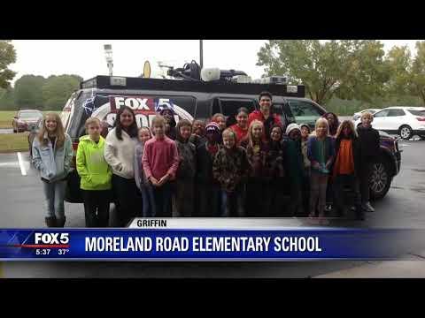 FOX 5 Storm Team visits Moreland Road Elementary School
