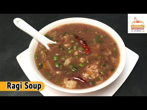 Ragi Soup | Finger Millet Soup For Weight Loss | Healthy Recipe By Hyderabadi Ruchulu
