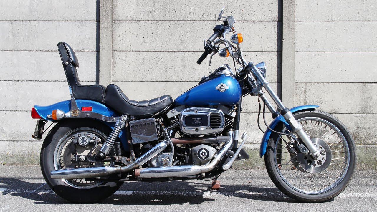 1982 Fxwg Harley Davidson Shovelhead