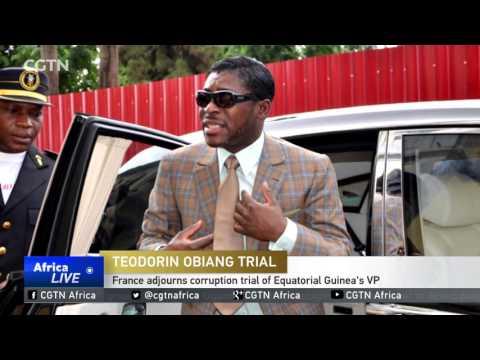 France adjourns corruption trial of Equatorial Guinea's