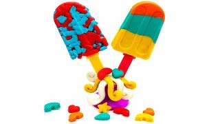 Learn Colors With Play Doh Rainbow Ice Cream For Kids