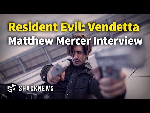 Resident Evil: Vendetta - Matthew Mercer - E3 2017 Interview