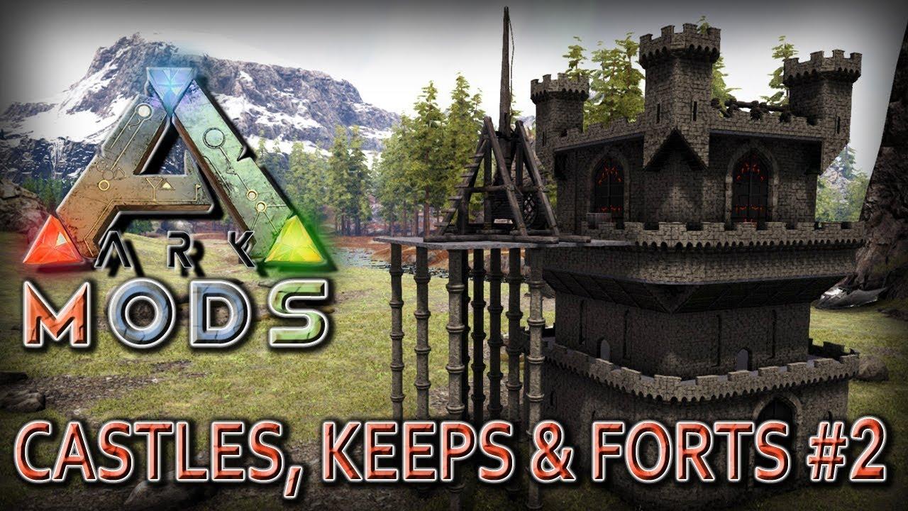 Best Ark Mods 2020 ARK MODS 🏰 Castles, Keeps & Forts • Burgenbau • ARK Deutsch