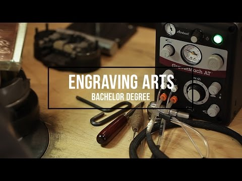 Engraving Arts Program At Emporia State University