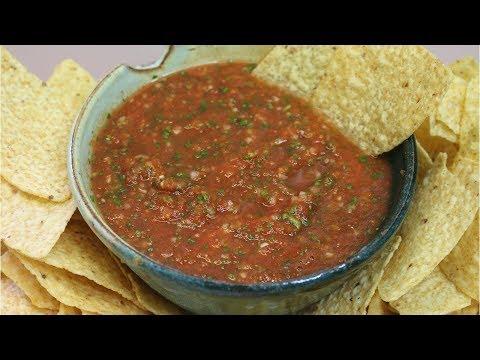 Cantina Style Salsa Recipe ~ Noreen's Kitchen Basics
