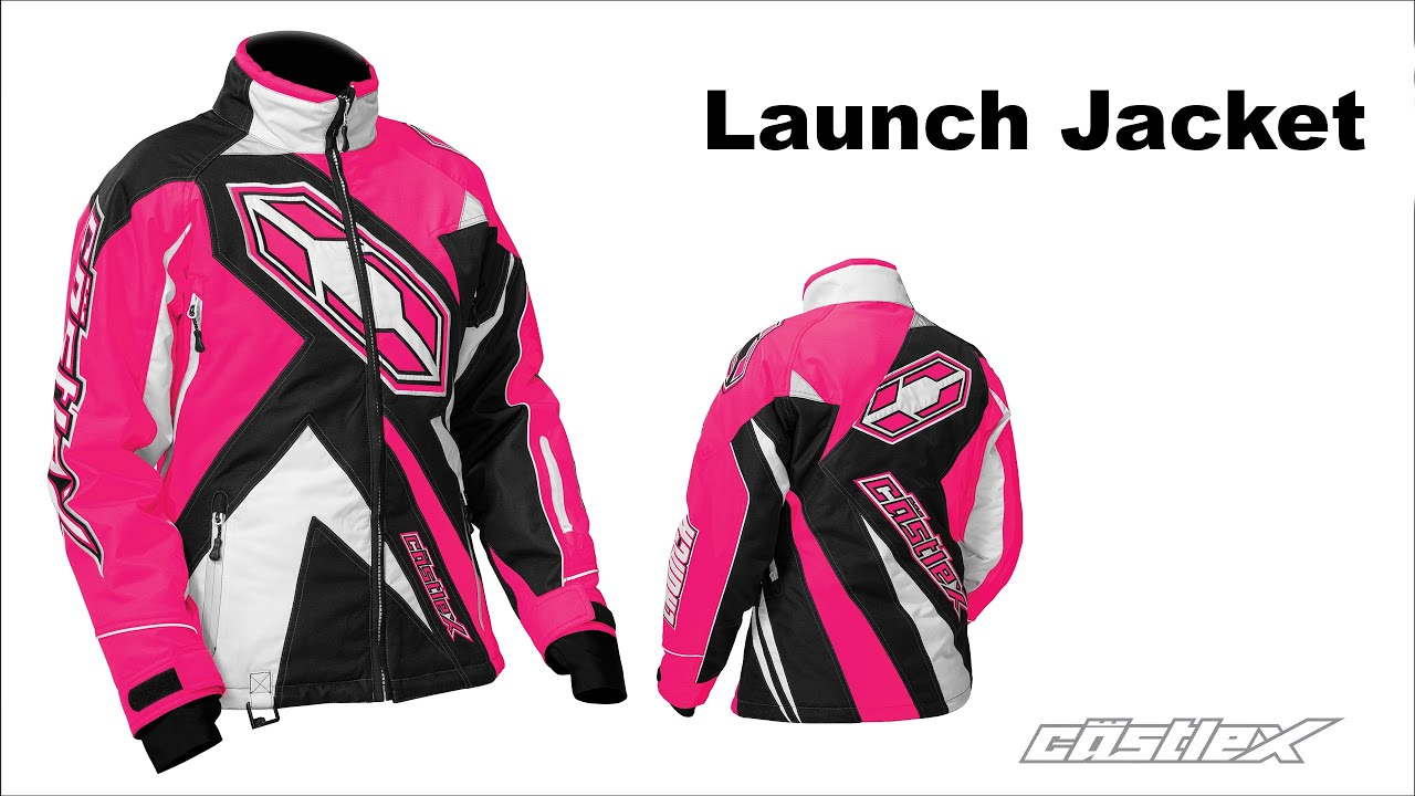 Castle X Womens Launch G3 Snowmobile Jacket Youtube
