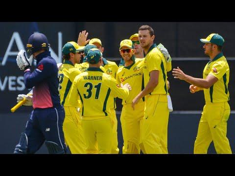 Fourth ODI: Australia v England