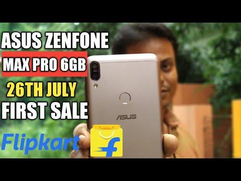 Asus Zenfone Max Pro M1 6GB First Sale Starts 26th July