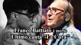 Franco Battiato è morto: Ultimo canta
