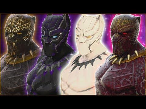 Killmonger  Black Panther  White Wolf  Bloodmonger Mod Gameplay   Marvel VS Capcom Infinite