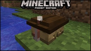 How To Build Smallest House in Minecraft Pe | MCPE ( pocket edition)