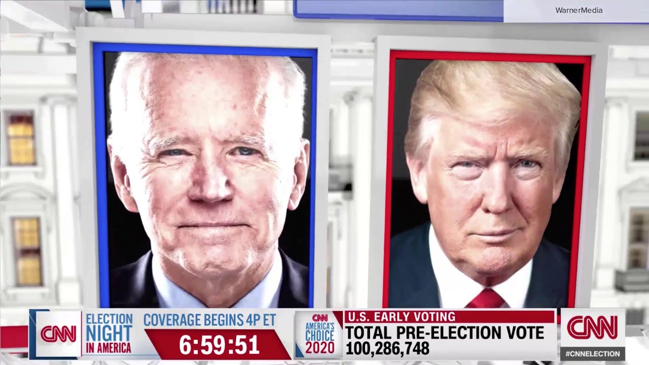 CNN 'America's Choice: Election Day in America' open