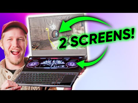 This Prototype is INSANE - ASUS Zephyrus Duo Gaming Laptop