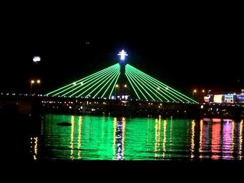 Đèn trên cầu Sông Hàn - Gphê Coffee .MOV