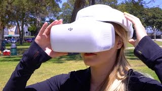 DJI Goggles - FPV Drone Flying