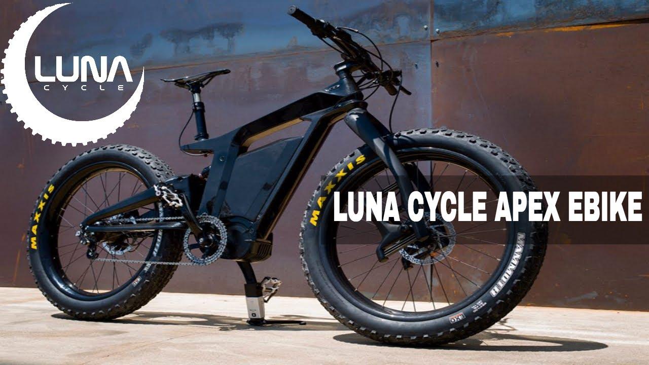Luna Cycle Announces the Apex Ebike