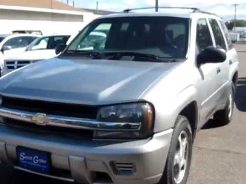 Used 2008 chevrolet trailblazer i6 4wd for sale at swant for Swant graber motors barron wi