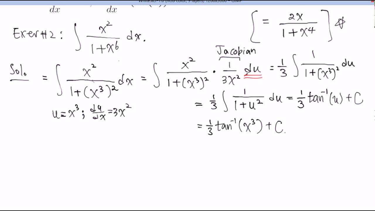 Substitution Method Examples 2 Youtube