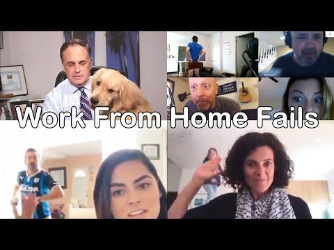 Funny Work From Home Fails During Coronavirus Quarantine Lockdown