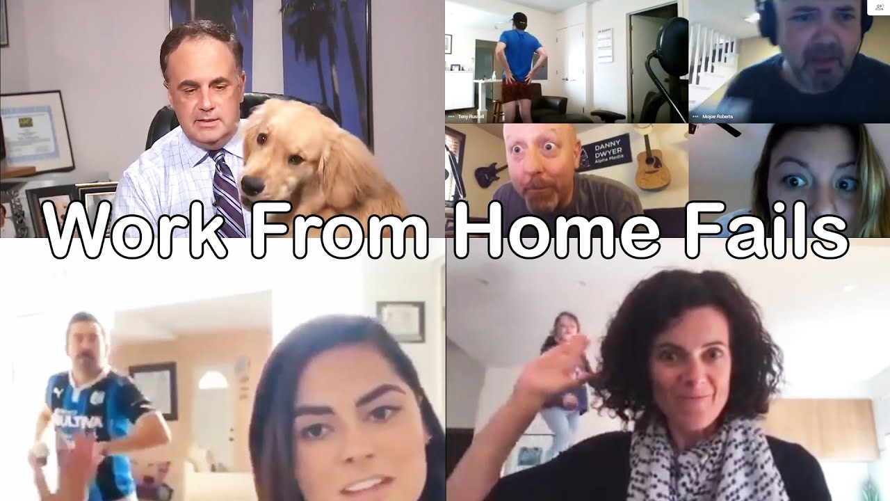Funny Work From Home Fails During Coronavirus Quarantine Lockdown Youtube