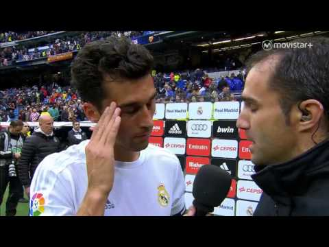 Como no quererle - Arbeloa despedida del Bernabéu (08-05-2016)