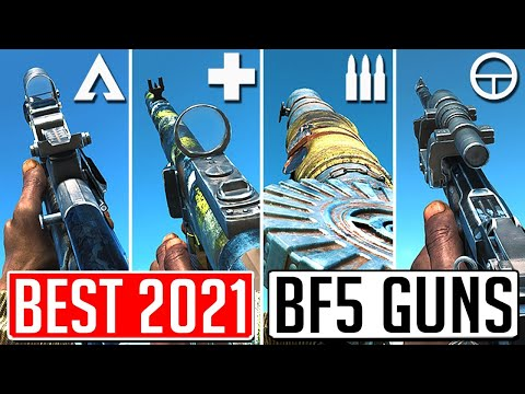 The BEST GUN In 2021 For EVERY CLASS In Battlefield 5