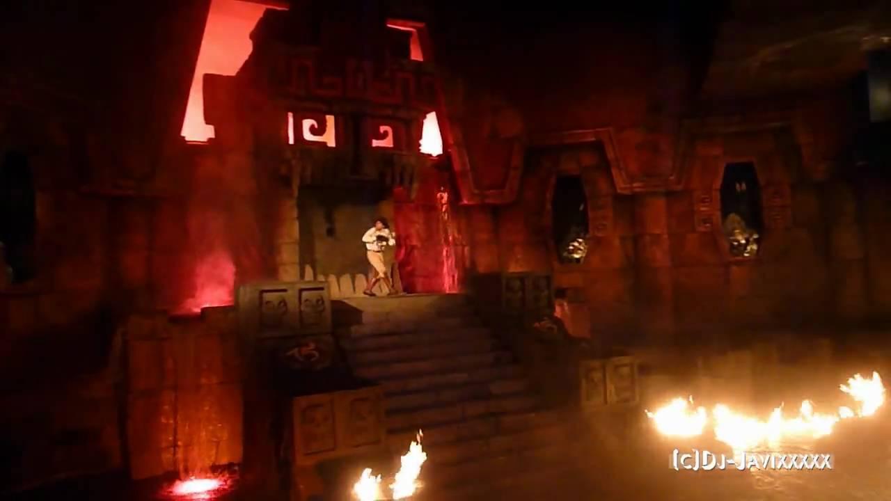 Templo Del Fuego Portaventura 2010 Youtube