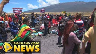 Mauna Kea Day 5 - Travelling Protectors Welcomed, State Update (July 19, 2019)