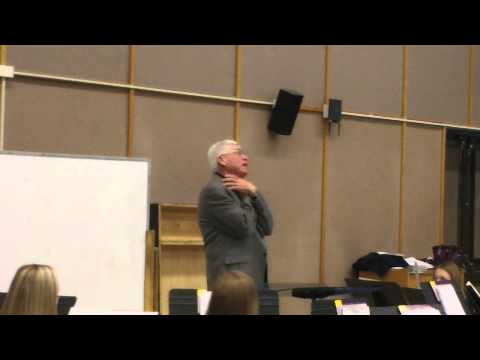 Washington Middle School Clinic with Dr. James Keene