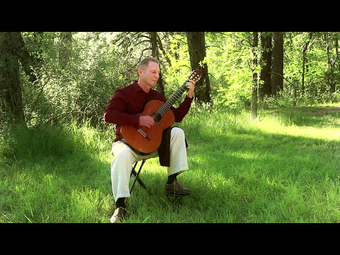Song Of The Birds By Pablo Casals Arranged For Guitar By LV Johnson