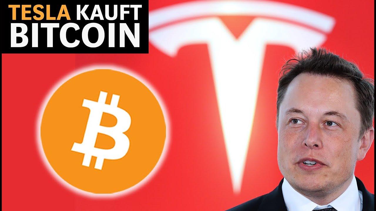 Tesla steigt in Bitcoin ein: BTC-Kurs erreicht Allzeithoch
