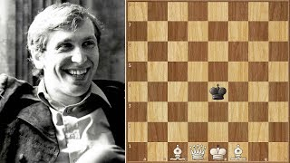 Bobby Fischer Lost 2 Bets Trying to Solve this Puzzle (Mate in 3)