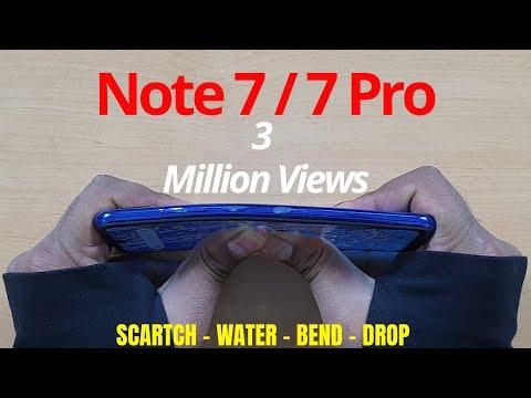 Redmi Note 7S | 7 (Global) Durability Test (DROP SCRATCH WATER BEND) | Gupta Information Systems