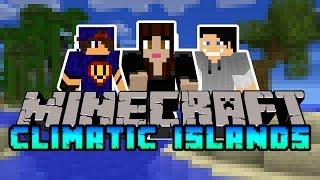 Minecraft Climatic Islands #14 Bohater Maciek i suche gąbki  w/ Undecided Madzia
