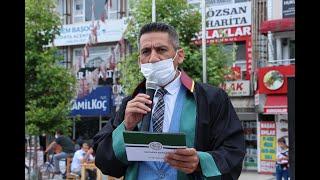 """Başkan Abdurrahim Burak: """"Vazgeçmeyeceğiz Çoklu Baroya Hayır"""""""