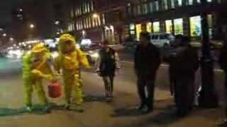 Bio-hazard outside Manhattan night club, Butter, New York NY