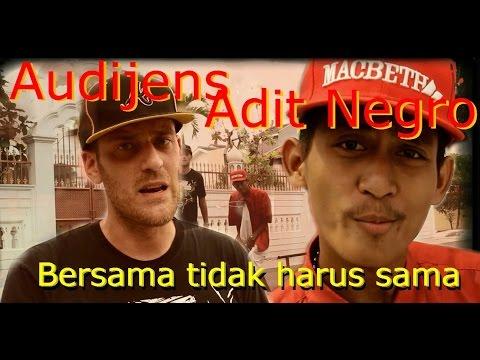 YEN (Audijens) X Adit Negro - Bersama Tidak Harus Sama (HD Video) Cuts By DJ Crabtile