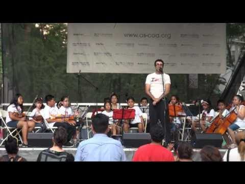 "Kids from the Corona Youth Music Project perform ""Oriental Legend"" by Elliot Del Borgo"