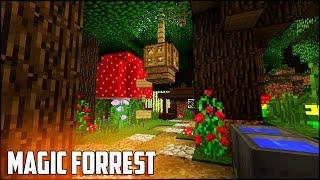 minecraft magic cute easy survival hobbit tutorial forrest