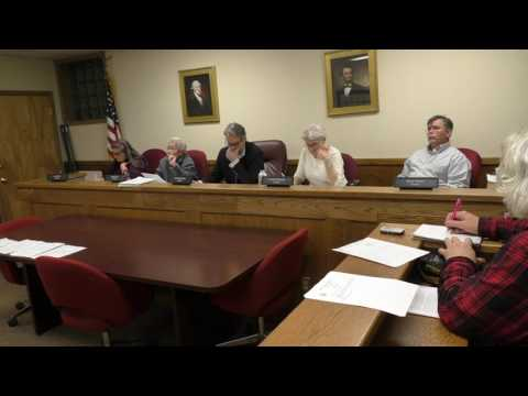 Cold Spring Board of Trustees,  February 14, 2017