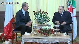 رئيس الجمهورية عبد العزيز بوتفليقة يستقبل عمدة بلدية باريس