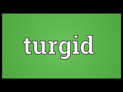 Turgid Meaning