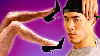 The Try Guys Wear High Heels For A Night(, 2017-03-26T18:00:57.000Z)