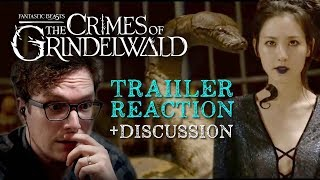 Crimes of Grindelwald Final Trailer Reaction + Discussion - Fantastic Beasts 2