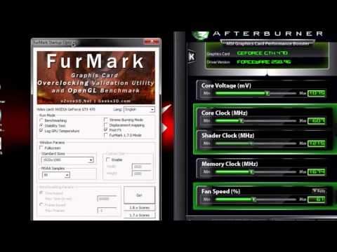 Video Card Stability and Temperature Testing