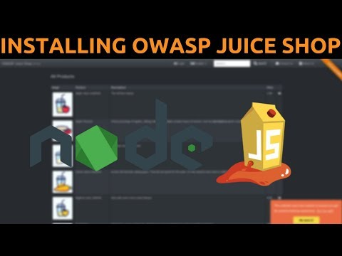 How To Install OWASP Juice Shop