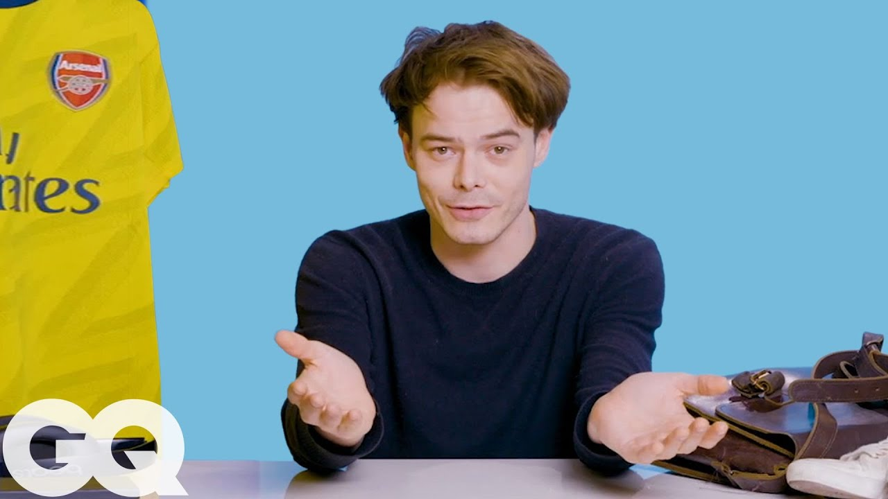 10 Things Charlie Heaton Can't Live Without