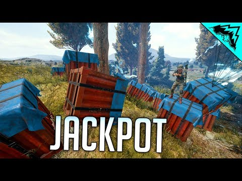 CRATE JACKPOT - PUBG Crate Gameplay (WTF RULES)