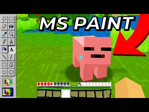 I Made EVERY Minecraft Texture In MS Paint...